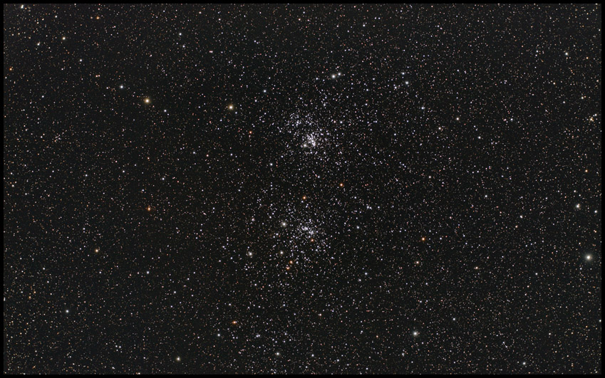 The Double Cluster  ~A53
