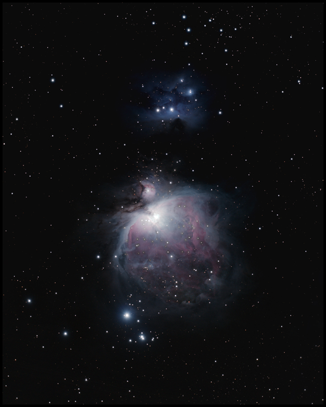 M42 The Orion Nebula and NGC1977   ~A54