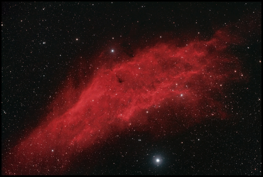 The California Nebula  ~A55